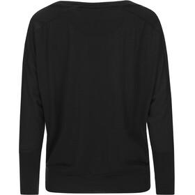 super.natural Kula Langærmet T-shirt Damer sort